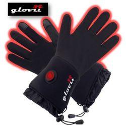 Rękawice ogrzewane wewnętrzne Glovii GLB czarne-L-XL