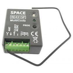 Radioodbiornik CAME SPACE 1-kanałowy RE431SP