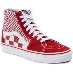 Sneakersy VANS - Sk8-Hi VN0A38GEVK51 (Mix Checker) CHili Pepper/True White