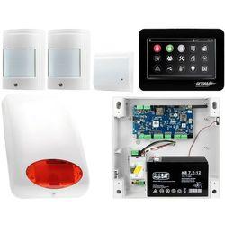 NeoGSM-IP Aero System alarmowy 2x czujka bezprzewodowa Powiadomienie GSM Wifi Zestaw