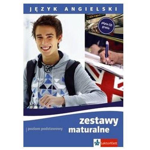 Hobby i poradniki, Język angielski. Zestawy maturalne. Poziom podstawowy + CD (opr. broszurowa)