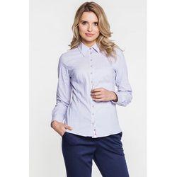 Koszula w prążki i kropki - Duet Woman