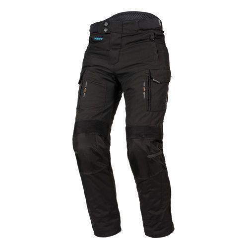 Spodnie motocyklowe męskie, SPODNIE TEKSTYLNE REBELHORN HARDY PRO BLACK
