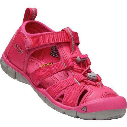 Sandałki dziecięce, Keen Seacamp II CNX Sandały Dzieci, hot pink US 5 | EU 37 2019 Sandały codzienne