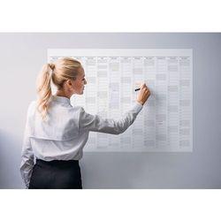 Planer kalendarz ścienny 2018 papierowy suchościeralny 119x84 A0