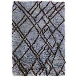 HKliving Wełniany dywan berberyjski szaro-niebieski (180x280) TTK3038
