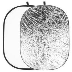 Quantuum Blenda 91x122 cm biało srebrna modelująca światło
