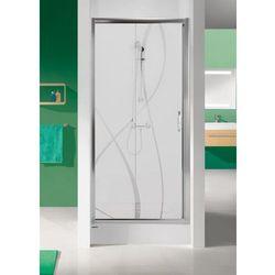 SANPLAST drzwi Tx 5 100 przesuwne, szkło W15 D2/TX5b-100 600-271-1110-38-231