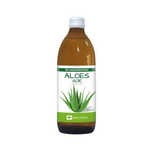 Preparaty ziołowe, Aloes Sok z aloesu 99,7% - - 500 ml