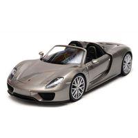 Osobowe dla dzieci, Porsche 918 Spyder, srebrny - Welly