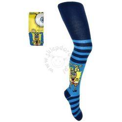 Rajstopy dla dzieci SpongeBob Kanciastoporty - Niebieski   Kolorowy
