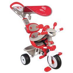 Smoby Tříkolka Baby Driver Confort, stříška czerwony