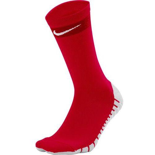 Piłka nożna, Skarpety Nike Team MatchFit Crew czerwone SX6835 657