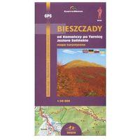 Mapy i atlasy turystyczne, Bieszczady 1:50 tys.