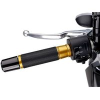 Manetki motocyklowe, Manetki PUIG Hi-Tech Ascent do kierownic 22 mm (złote)