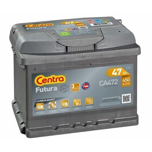 Akumulatory samochodowe, Akumulator Centra Futura 12V 47Ah 450A P+ (wymiary: 207 x 175 x 175) (CA472)