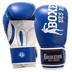 BOXEUR Rękawice bokserskie bxt-5127 (10 oz) BLUE