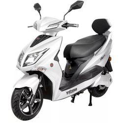 HECHT EQUIS WHITE SKUTER ELEKTRYCZNY AKUMULATOROWY E-SKUTER MOTOR MOTOCROSS MOTOREK MOTOCYKL - OFICJALNY DYSTRYBUTOR - AUTORYZOWANY DEALER HECHT promocja (--28%)
