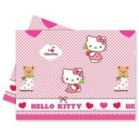 Obrusy, Obrus urodzinowy Hello Kitty - 120x180 cm - 1 szt.