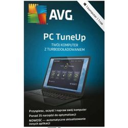AVG PC TuneUp 5 PC / 2 Lata