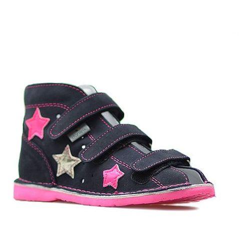Buty profilaktyczne dla dzieci, Obuwie rehabilitacyjno-profilaktyczne Danielki WZTA125 Granatowe