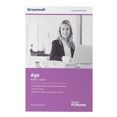 Programy kadrowe i finansowe, Streamsoft PCBIZNES AGA Kadry i płace bez ograniczeń pracowników