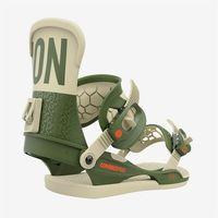 Wiązania snowboardowe, wiązania UNION - Contact Pro Green - Gigi Ruf (GREEN - GIGI RUF) rozmiar: L