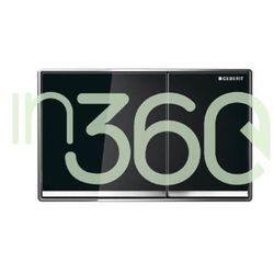 Geberit Sigma60 przycisk uruchamiający przedni, szkło czarne 115.640.SJ.1