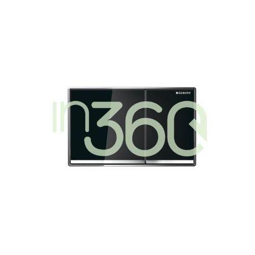 sigma60 przycisk uruchamiający przedni, szkło czarne 115.640.sj.1 marki Geberit