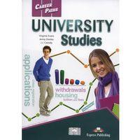 Książki do nauki języka, Career Paths. University Studies SB - Dooley Jenny, Evans Virginia (opr. miękka)