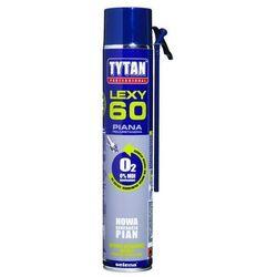Pianka poliuretanowa wężykowa LEXY 60 Wielosezonowa 750 ml TYTAN PROFESSIONAL