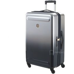 Victorinox Etherius Gradient duża poszerzana walizka 75 cm / szara - Steel