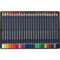 Kredki, Kredki Triocolor trójboczne 24 kolory metalowa kasetka - Koh-I-Noor