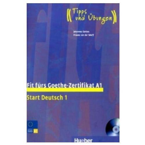Książki do nauki języka, Fit fürs Goethe-Zertifikat A1, m. 1 Buch (opr. miękka)