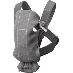 Babybjörn nosidełko MINI 3D Jersey, ciemny szary