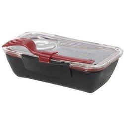 Pudełko na lunch Bento czerwono-czarne