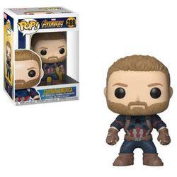 Figurka FUNKO POP Avengers Infinity War Captain America