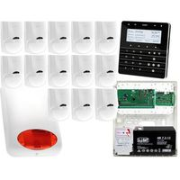 Zestawy alarmowe, Zestaw alarmowy Płyta główna INTEGRA 64 Manipulator sensoryczny INT-KSG-BSB 13x Czujka LC-100 Sygnalizator zewnetrzny SPL-5010 R