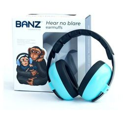 Słuchawki ochronne nauszniki dzieci 0-3lat BANZ - Lagoon Blue
