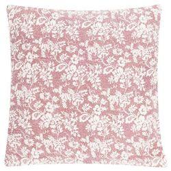 Poduszka Flower Garden Blush 60x60 - kremowy ||czerwony