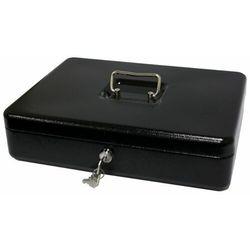 Kasetka na pieniądze Metalplus 2153/5AS_BLACK, bardzo duża, czarna