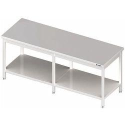 Stół centralny z półką 2000x800x850 mm | STALGAST, 980118200