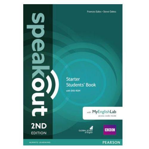 Książki do nauki języka, Speakout 2Ed Starter. Podręcznik + DVD-ROM + MyEnglishLAb (opr. miękka)