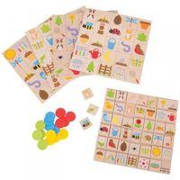 Gry dla dzieci, Gra bingo ogrodowe