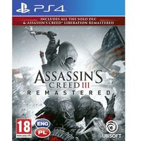 Gry PS4, Assassin's Creed 3 Liberation Remaster (PS4)