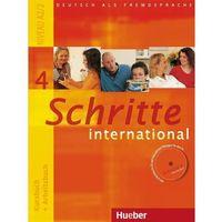 Książki do nauki języka, Schritte international 4. Kursburch + Arbeitsbuch. (Podręcznik + Ćwiczenia) + CD. Edycja niemiecka (opr. miękka)