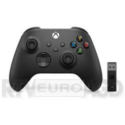 Microsoft Xbox Series Kontroler bezprzewodowy + adapter (carbon black)