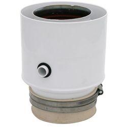 Adapter prosty Spiroflex 60/100 mm do kotłów kondensacyjnych Beretta biały