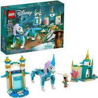 Klocki dla dzieci, LEGO Disney Raya i smok Sisu 43184