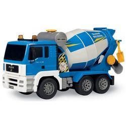 Pojazd man betoniarka niebieska r/c double eagle